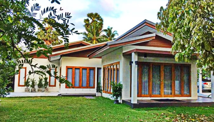 Recommend to arrange a natural garden house
