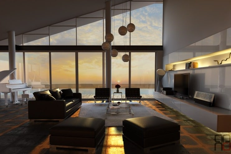 Modern luxury style home decoration approach