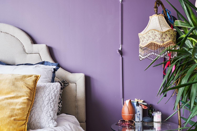decorating ideas vintage bedroom 90