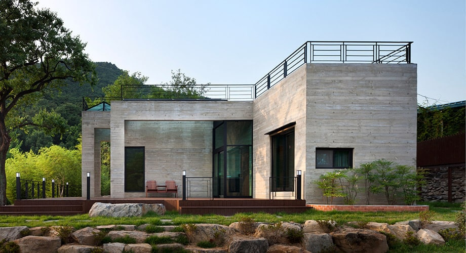 Guidelines for bare cement houses