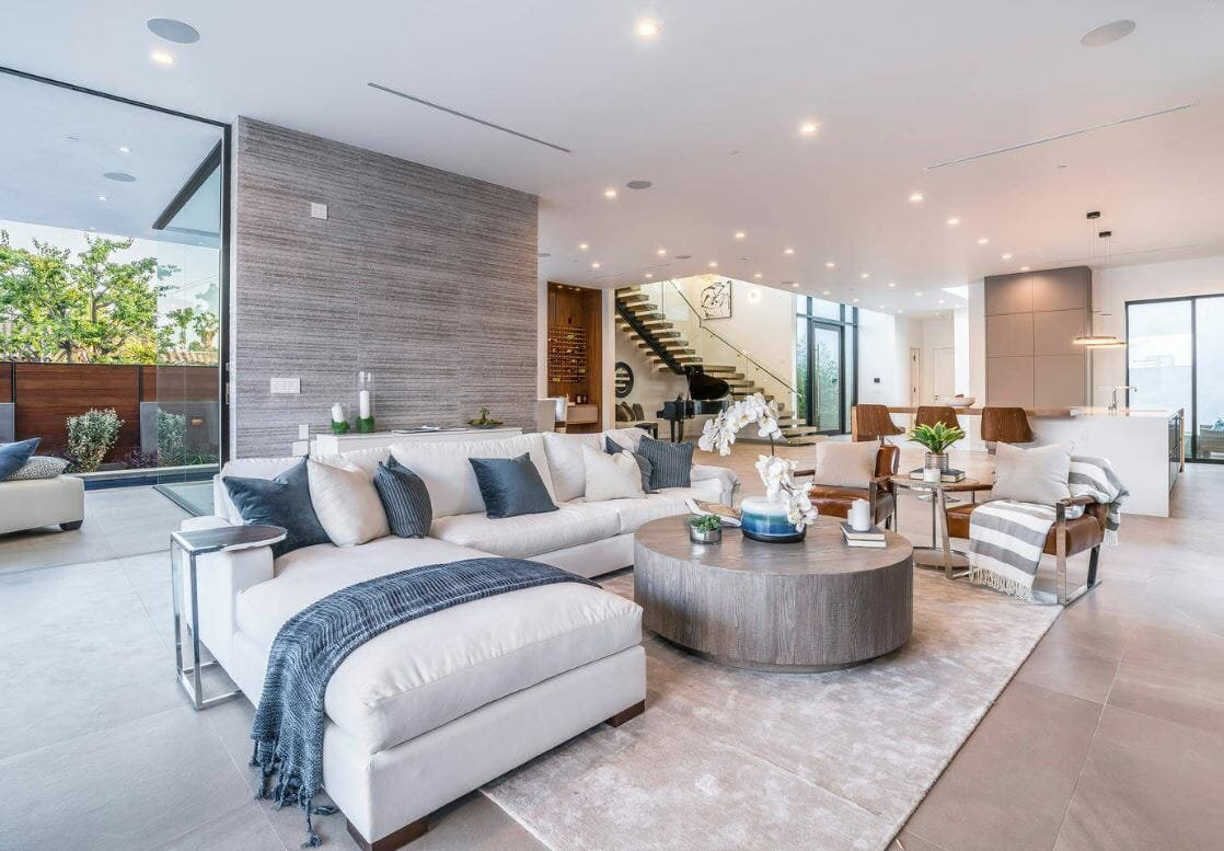 Contemporary style home decorating ideas