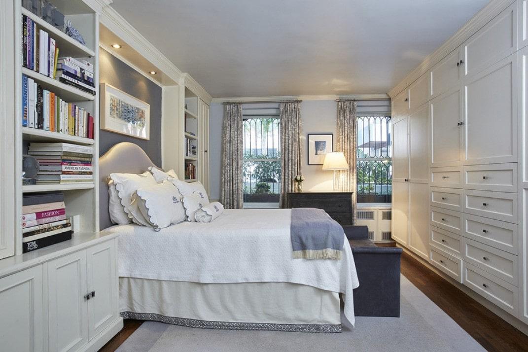 Start Guide built-in bedroom