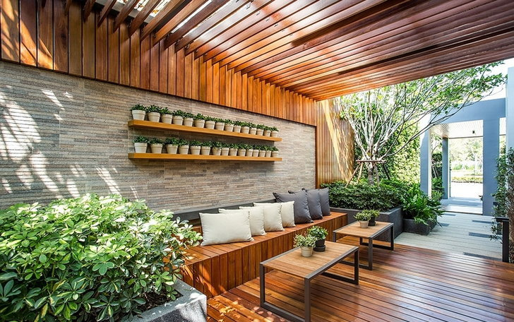 Guide to gardening in front of the house, Feng Shui
