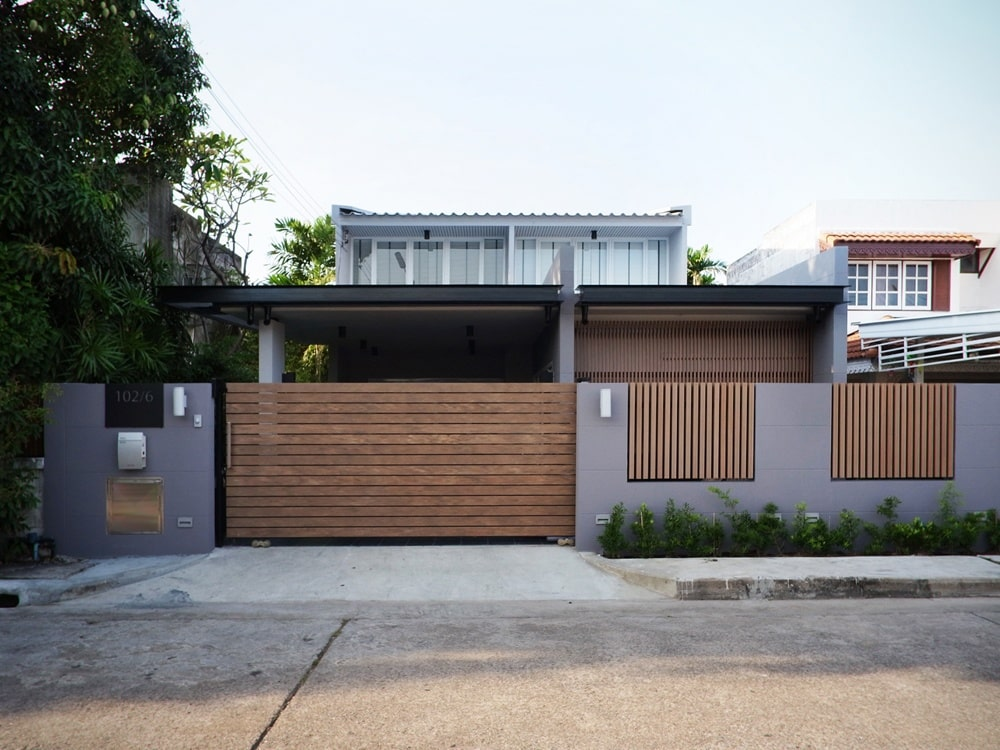 Guidelines for modern house walls